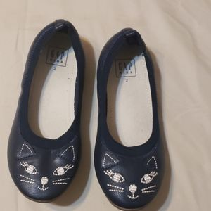 Gap girl kitty flats. Used once only.